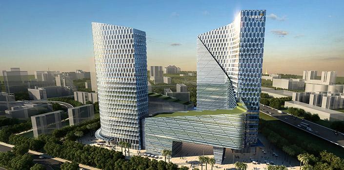 北环大道和广深高速交汇处东南面,该区域未来将打造成为位于福田中心